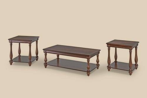 Bernards 3 Piece Cocktail (Bernards Weddington 3 Piece Coffee Table)