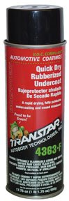 TRANSTAR (4363-F) Quick Dry Rubberized Undercoating - 17.75 oz. ()