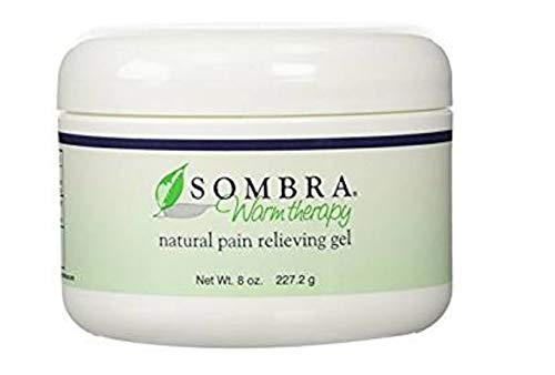 Sombra Warm Therapy Natural Pain Relieving Gel, 8 Ounce, 3 Count by Sombra