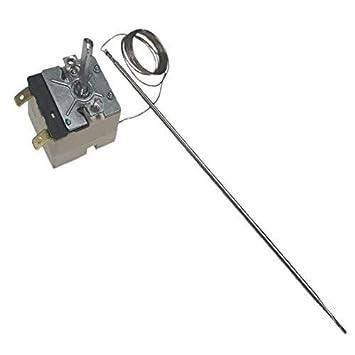55.13043.010 Ego Universal Cocina Horno Termostato de control 250℃ 2 Pin Interruptor: Amazon.es: Electrónica
