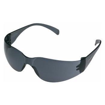 3M 90552 Outdoor Safety Eyewear, Black Frame, Gray Scratch ...