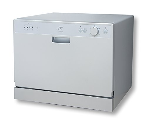SPT SD 2202S Countertop Dishwasher Silver