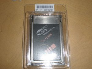 IBM 2MB PCMCIA ATA Flash Memory Card for Laptop Telecom equipment industrial CNC