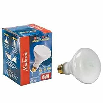 sunbeam 65 watt br30 130v medium base indoor flood lights. Black Bedroom Furniture Sets. Home Design Ideas