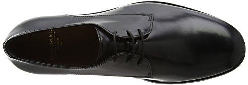 Derbys Shoe Homme Royal Republiq black Classic Alias Schwarz qnagP