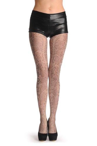 Grey Snake Skin Den Pantyhose product image