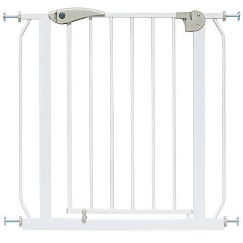 ib style® Berrin Traphekje| 75-175cm |Klemhekje | Zonder boren | 90° Stop| Auto-Close|75-85 cm