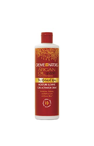 Creme of Nature with Argan Moisture & Shine Curl Activator Creme, 12 -