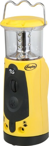 Freeplay Indigo Lantern with Emergency Charger, Yellow