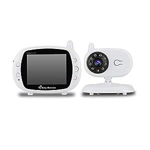 3,5 pouces vidéo HD sans fil 2,4 GHz Baby Monitor Night Vision caméra de sécurité 8