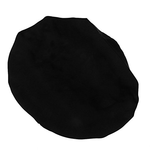 Tinksky Bonnet Night Sleep Black