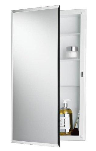 Broan Medicine Cabinets - Broan 781061 Framless with 1/2