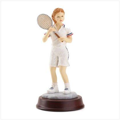 Girl Tennis Player Model Figurine Womens Figure Statue (Player Figurine Tennis)