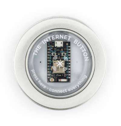 Particle | Internet Button | LED Ring, Accelerometer & Push Buttons | Scale Internet of Things Products | Free Cloud Access | Great for Building Prototypes