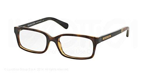 Michael Kors Medellin Eyeglasses MK8006 3010 Dk Tortoise Snake 50 16 - Michael Prices Kors Glasses