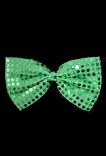 St Patrick's, Green Glitz N Gleam Bow Tie, 7