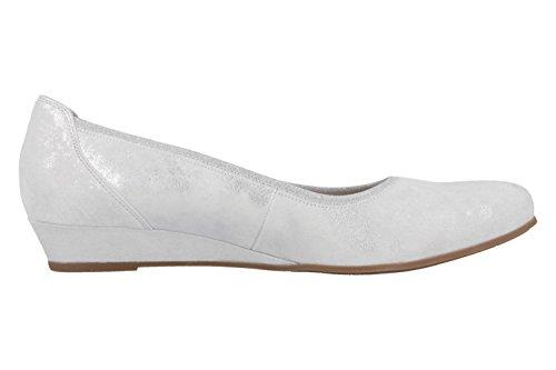 Gabor - Bailarinas de Piel para mujer Blanco blanco Blanco - blanco