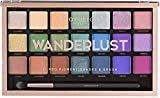 Profusion Cosmetics 21 Shade Eyeshadow Palette Collection & Brush, Wanderlust