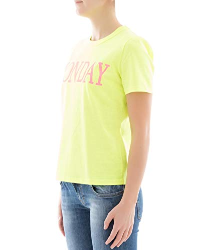 T Amarillo 0701169027 Mujer Algodon Alberta shirt Ferretti qxwtXqa