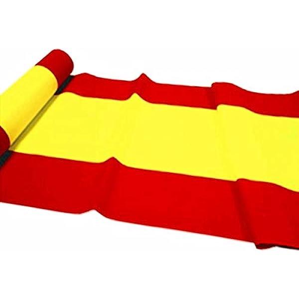 durabol Bandera de España Sin Escudo 500cm*90 cm Spain Banderas Larga: Amazon.es: Jardín