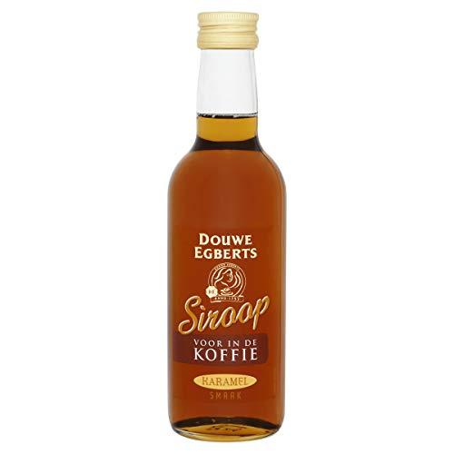 Douwe Egberts Koffiesiroop Karamel, Vloeibare Siroop voor in je Koffie, 6 x 250 ml