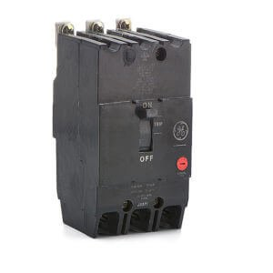 3 Pole Type - GE TEY330 Bolt-On Mount Type TEY Molded Case Circuit Breaker 3-Pole 30 Amp 480/277 Volt AC