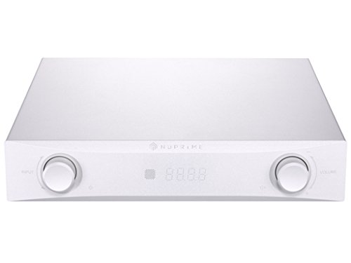 NuPrime IDA-8 Ultra Low Noise Class A+D Integrated Amplifier with DAC and Hi-Res Bluetooth Streaming