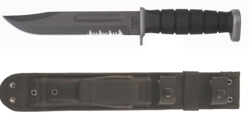 Ka-Bar D2 Fixed Serrated-KB/Eagle Sheath – 2-1281-9, Outdoor Stuffs