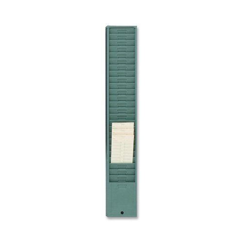 Acroprint Style 176 Green Metal Time Card Rack by Acroprint Time (Acroprint Green Time Card Racks)