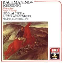 Rachmaninov - Melodies; Tcherepnine: Melodies - Nicolai Gedda / Alexis Weissenberg (EMI)