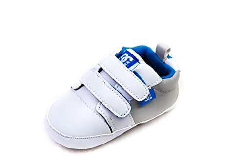 Dc Baby Cribs - DC Shoe Lowtop Babies Crib Shoes 9-12 months White