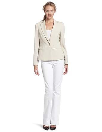 Jones New York Women's Waist Seam Jacket, Beechwood, 4