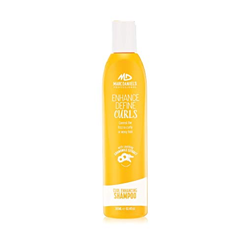 Sulfate Free Anti Frizz Hydrating Shampoo for Curly, Wavy Hair. Unlimited Bounce and Definition, Reduce Frizz and Repair Dry Hair by MARC DANIELS Professional