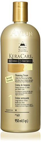 Avlon Keracare Natural Textures for Unisex, Cleansing Cream, 32 Ounce