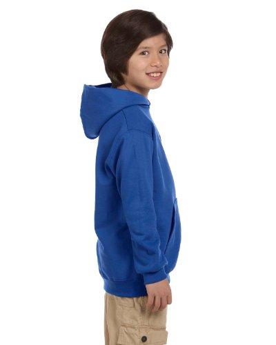 Hoodie 2008 Kids - Champion CY40C Youth 50/50 Hood - Royal Blue - S