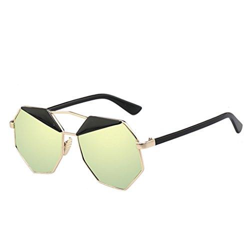 de sol de amp; de A Color Gafas protecciónn poligonales de sol C gafas amp;Gafas gafas sol LYM reflexivas SfBwqzn7cq