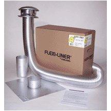 1750035 5'' X 35' Flexi Liner Aluminum Kit 6swss-25k