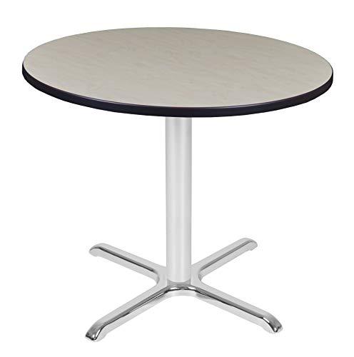 Regency TVX36RNDPLCM Via Round X-Base Table 36