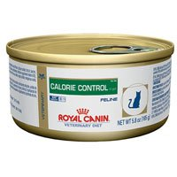 Royal Canin Veterinary Diet Feline Calorie Control High Protein Morsels in Gravy Canned Cat Food 24/3 oz