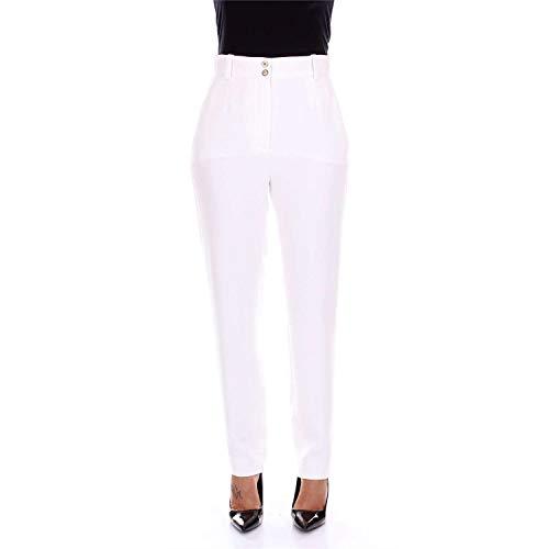 A79629A217281 Bianco Pantalone Bianco Versace Versace Pantalone A79629A217281 Donna Donna EvWTq4Sw