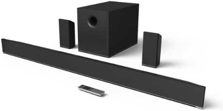 VIZIO S5451w-C2 54-Inch 5.1 Channel Sound Bar with Subwoofer and Surrounds (2014 Model)