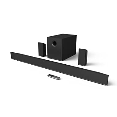 VIZIO S5451w-C2 5.1 Channel Sound Bar with Subwoofer and Surrounds (2014 Model)