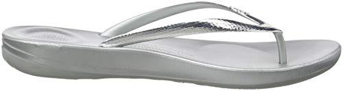 Iqushion Flip FitFlop Silver 300 Tongs Mirror Flops Femme Ergonomic Argenté Ugw7qF