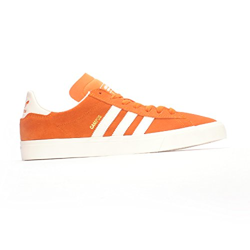 adidas Skateboarding para hombre Campus Vulc II Adv Tactile Orange/Chalk White/Chalk White