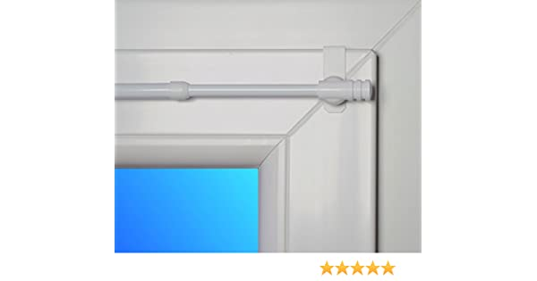 dekondo Rapid fix-klick – Barra extensible, 35 – 55 cm blanco (para ventanas de grosor 15 – 20 mm) Pinza Barra/Spannfix: Amazon.es: Hogar