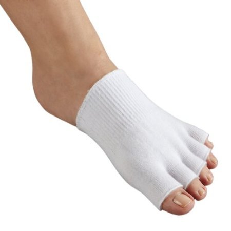 FootSmart Gel-Lined Compression Toe Separating Socks, Pair