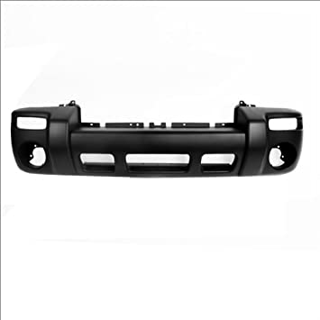 Primed Front Bumper Cover W//O Hole Fits Liberty Limited//Sport Model CH1000334