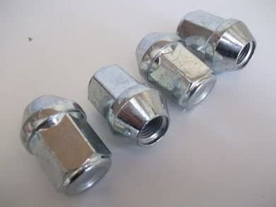 Set of 4 Replacement Wheel Nuts M12 x 1.5 Closed End WND6-FD NOT ALLOY For Ford Steel Wheels