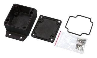 Black Multicomp Pro Enclosure Alum Alloy Ip67 MC001244