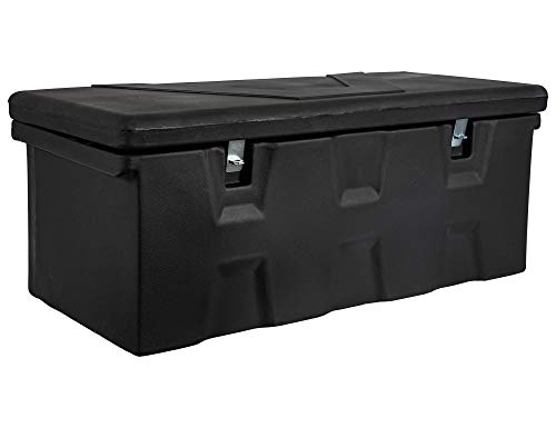 Buyers Products Black Poly All-Purpose Chest (15.8 Cubic ft.) 26 Inch Steel Tool Box